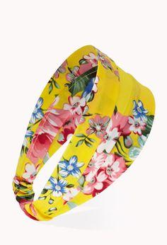 Vibrant Floral Headwrap | FOREVER21 - 1000066251