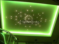 Bathroom lighting - starry sky in the bathroom - a starry sky in the bathroom - the lighting in the bathroom home - a star in the bathroom www.e-technologia.pl