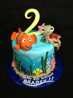 finding nemo theme cakes | Finding Nemo Cake — Disney Themed Cakes