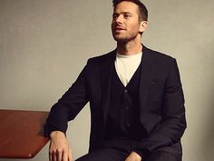 """The possibilities of impossibilities"" — Armie Hammer for: Variety, British GQ, Brioni,..."