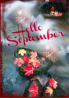 Charming Hello September! Via Ups, Downs, Roundabouts At Www.Facebook.com/