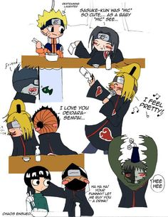 Kisame and Zetsu were the funniest to me