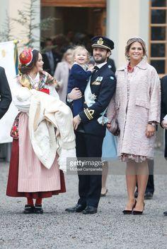 1 December 2017 - Prince Gabriel's Christening at Drottningholm Church