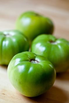 Green tomatoes... perfect for frying