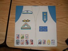 What  a great idea for the Girl scout  scrapbook