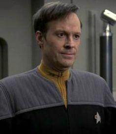 Dwight Schultz as Reg Barclay, my favorite TNG minor character. #startrek