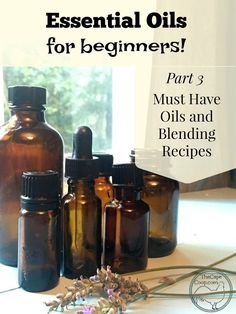 Part 3 of 3 in my free NON BIAS guide - essential oils for beginners!