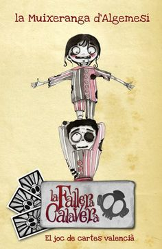 #CROWDFUNDING #VALENCIA #MASCLETA #FALLAS #FALLERA #ZOMBI #JOC #JUEGO - Muixeranga d'Algemesí zombi El joc La Fallera Calavera d'Enric Aguilar: el joc de cartes valencià. Un joc d'estratègia en valencià destinat a tots els públics que parodia elements del nostre folklore, cultura popular i mitologia. falles falla valencia fallera zombi zombie mascleta Crowdfunding Verkami http://www.verkami.com/projects/7153-fallera-calavera
