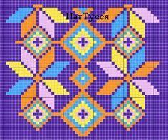 Risultati immagini per mochila bag crochet pattern free Tapestry Crochet Patterns, Crochet Stitches Patterns, Loom Patterns, Cross Stitch Patterns, Knitting Patterns, Mochila Crochet, Bag Crochet, Crochet Purses, Crochet Chart