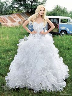 Max Chaoul Wedding Dress 2012 — Les Amoureux Bridal Collection   Wedding Inspirasi