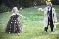 Adorable Dr. Who kid dress up. Oh please, oh please, oh please...I want to do this with the kids for Halloween!