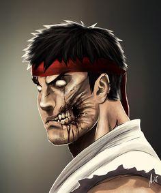 Zombie_Ryu_web By André de Freitas