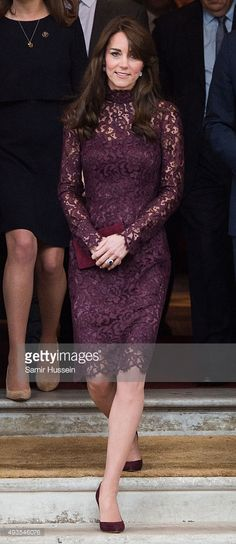 Catherine, Duchess of Cambridge attends a creative industry event to celebrate cultural collaboration between the UK and China at Lancaster House on October 21, 2015 in London, England.