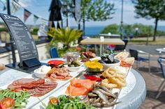 Lunch Platter - The Downs Hotel - Babbacombe, Devon, UK