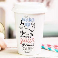 Mr Wonderful - Mug à emporter dreams | Ma commode dorée