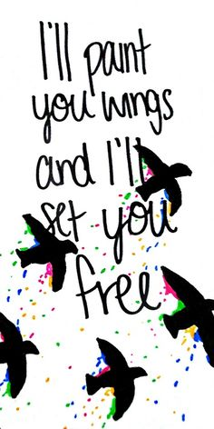 """""""Paint You Wings"""" ♥ All Time Low"""