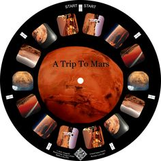 A Trip to Mars on a Custom Reel
