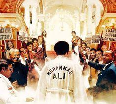 Así fue recibido Muhammad Ali en el cielo