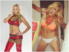 Ashley (Charlotte) Flair's body