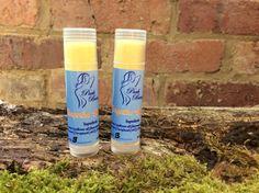 Organic Lip Balm Tangerine to make you smile by ParkBeautySkincare