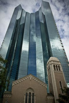 Denver,Colorado - Worked in this building for may years - saw tornado go right down Broadway at about the 19th floor level. - in the 80's - Very odd for Colorado!