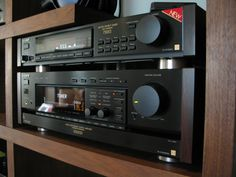 Sony ES TA-E1000ESD & ST-S730ES Vintage ES TOTL. The good days for Sony HiFi...This preamp and tuner are part of my personal collection....