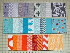 What can you sew with a charm pack? Several ideas (with some links to tutorials) of quilts to make using charm squares. You could also buy 'vacation' charm packs vs. Quilting Tips, Quilting Tutorials, Quilting Projects, Sewing Tutorials, Sewing Projects, Beginner Quilting, Quilting Room, Patchwork Quilting, Sewing Tips