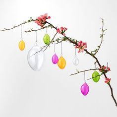 Decoration Egg - 3 cm, Glass, Light Pink, Svenskt Tenn   Svenskt Tenn