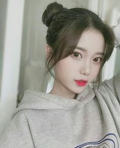 Style Ulzzang, Mode Ulzzang, Ulzzang Korean Girl, Pretty Korean Girls, Cute Korean Girl, Beautiful Asian Girls, Korean Hairstyle Long, Korean Hairstyles, Korean Haircut Long