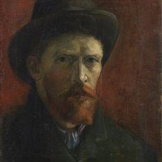 Van Gogh, Self-Portrait with Felt Hat, 1886, Van Gogh Museum