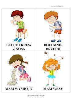 BLOG EDUKACYJNY DLA DZIECI Learn Polish, Polish Language, School, Health, Kids, Play Therapy, Child Psychotherapy, Speech Language Therapy, Polish