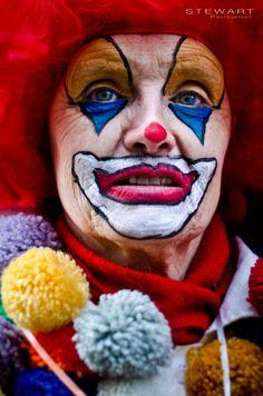 Old Carnival Clown by Lukas Stewart, via 500px