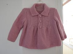 Little Princess Coat For 6 to 15MonthOld Baby by AuthenticKnit