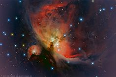 M42 and M43 by Chumack