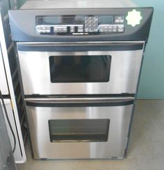 Appliance City   KITCHENAID SUPERBA WALL OVEN WITH CONVECTION MICROWAVE ON  TOP SELF CLEAN , $700.00