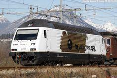 Trains, Railways and Locomotives: Railcolor.net BLS 465