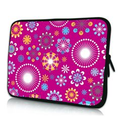 "Beautiful Printed Waterproof Zipper PC Tablet Netbook Soft Portable Cover Sleeve Case Pouch 10"" 9.7"" 10.1"""