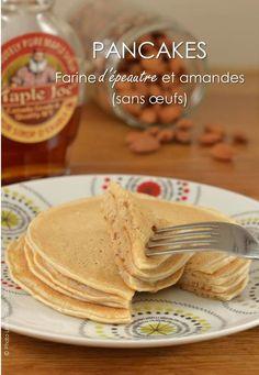 Pancakes à la farine d'épeautre et amandes