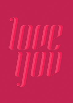 Love You poster by Marcelo P  | #loveletters #STpowerhour