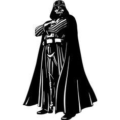 Vinilo decorativo de Darth Vader
