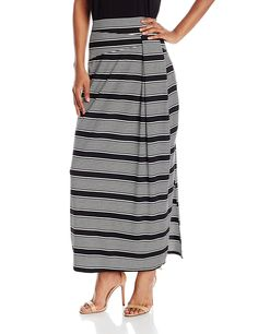 Designer Clothes, Shoes & Bags for Women Ankle Length Skirt, Striped Maxi Skirts, Ny Collection, Midi Skirt, Casual, Women's Skirts, Shopping, Image Link, Floor