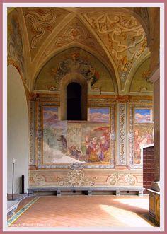 Naples : Frescoes  Santa Chiara Cloister delle Clarisse 11/12 by Pantchoa, via Flickr