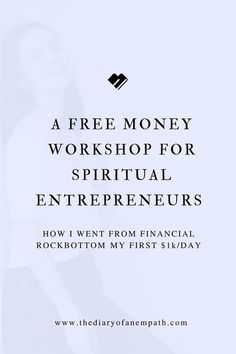 A workshop sharing the truths about money every empath and lightworker should know, thediaryofanempath.com Spiritual Life, Spiritual Awakening, Empath Types, Motivational Blogs, Anxiety Remedies, Good Mental Health, Highly Sensitive, Business Inspiration, Coping Skills