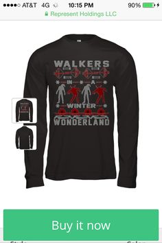 Walking dead christmas sweater on www.represent.com/walkingdead