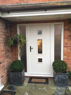 Ideas Wooden Entrance Door Design Knock Knock For 2019 Front Door Canopy, Front Door Porch, Porch Doors, Front Door Entrance, House Front Door, House Entrance, Modern Entrance Door, Modern Front Door, Orange Front Doors
