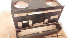 自作楽器研究所|Homemade Instruments: ニスを塗った板を並べてイメージトレーニング|自作電子ピアノ