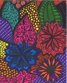 ColorIt Calming Doodles Volume 1 Colorist Michelle Wilson Shupe Adultcoloring Coloringforadults