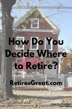 When the day comes & you finally retire, the sky's the limit when it comes to deciding where to live. You might want to stay put or maybe you're more adventurous & want to try the expat life for a while. Everyone has their own wants & needs. You need to think what're your retirement location criteria. And what're the deal breakers that make a place a definite no. We're having those discussions right now ourselves. We have to figure out what's important & necessary & what we can live without. Best Places To Retire, Things To Come, Good Things, Retirement Planning, The Good Place, Budgeting, Sky, Adventure, How To Plan