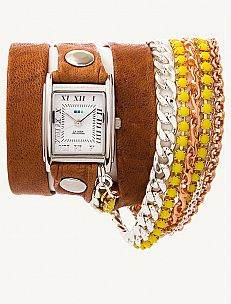 La Mer Watches- Stumbled on them in a trunk show in NYC.. Love that you can create your own on their site, so pretty!