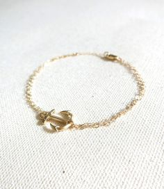 Anchor Bracelet $23.90 ~shopebbo  http://www.shopebbo.com/collections/bracelets/products/anchor-bracelet